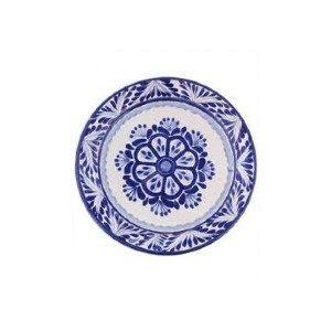 Gorky Pottery   Gorky Blue & White Dinner Plate $41.00