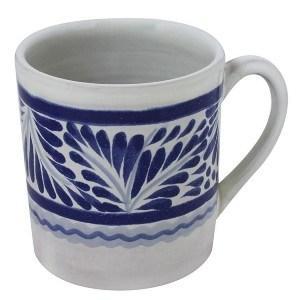 Gorky Pottery   Gorky Blue & White Mug $18.00
