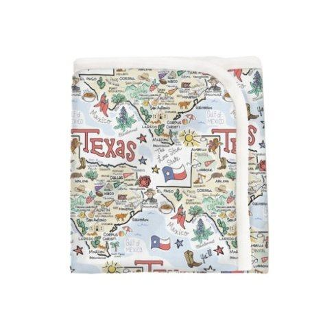 $52.00 Texas Baby Blanket