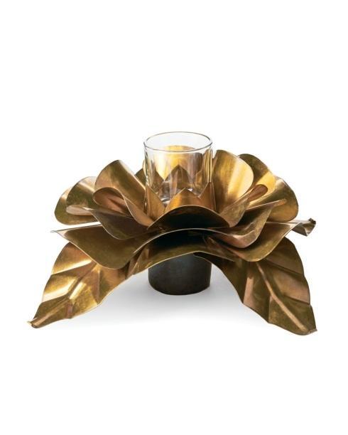 Jan Barboglio   Rosa D\'Oro Votive Glass $185.00