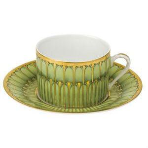 Barn White Exclusives   Arcades Teacup & Saucer $135.00