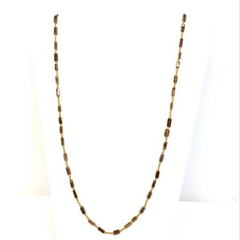 $129.00 Hessonite Garnet Necklace