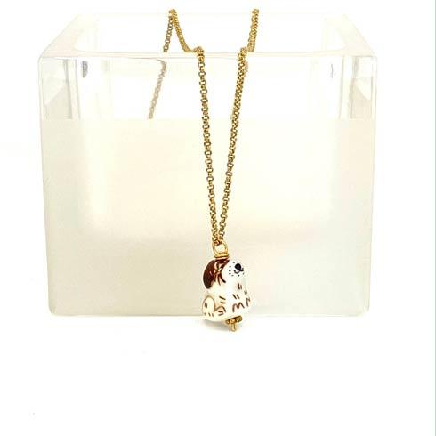 $59.00 Ceramic Dog Charm Necklace