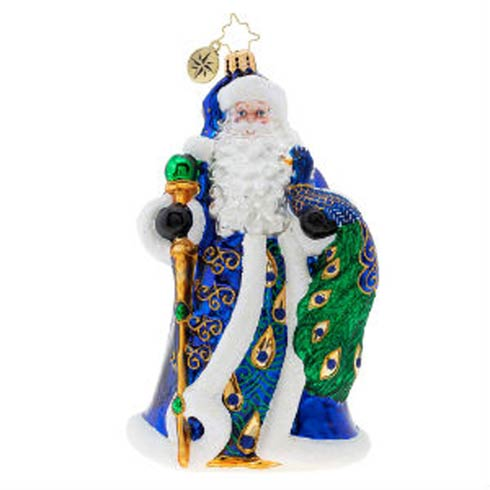Princely Peacock Santa collection with 1 products