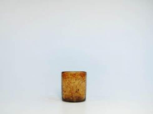 Rose Ann Hall Designs  Tortoise Shell DOF Glass $18.95
