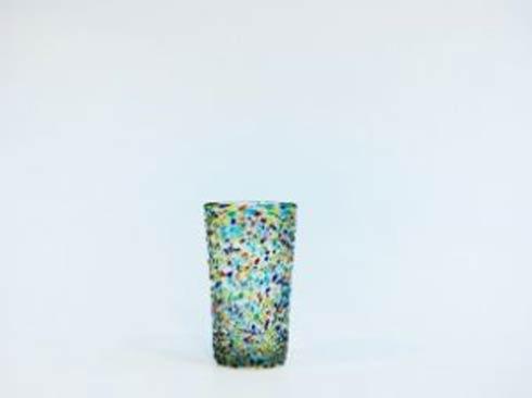 Rose Ann Hall Designs  Confetti Iced Tea Glass $18.95