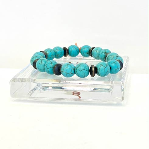 Turquoise and Sterling Silver Navajo Pearl Bracelet collection with 1 products