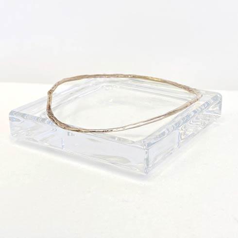 $60.00 Sterling Silver Distressed Bangle Bracelet