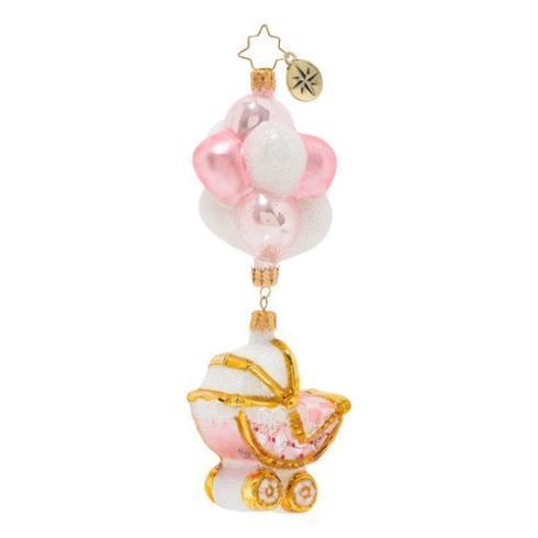 $66.00 Baby Girl Buggy & Balloons