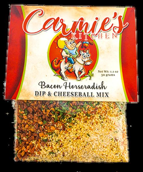 $4.95 Bacon Horseradish Cheeseball/Dip Mix