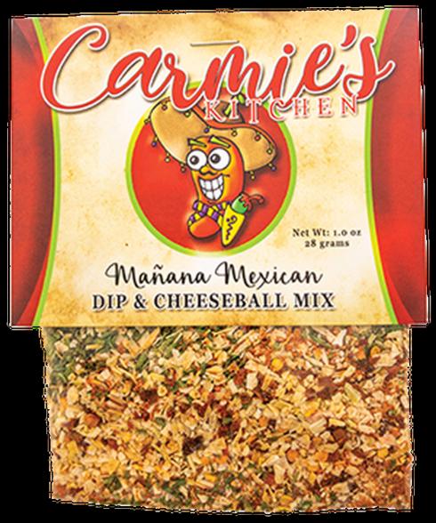 $4.95 Manana Mexican Cheeseball/Dip Mix
