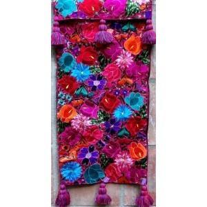 $215.00 Pink Floral Runner