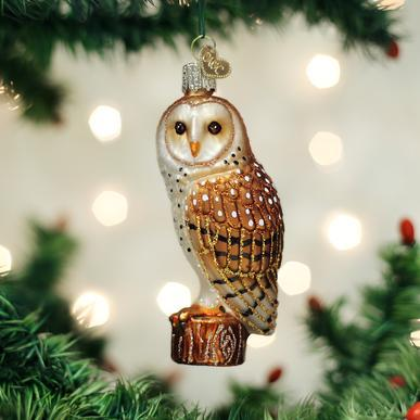 $15.99 Barn Owl Ornament
