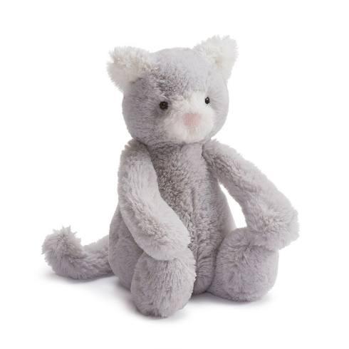 $22.50 Bashful Grey Kitty