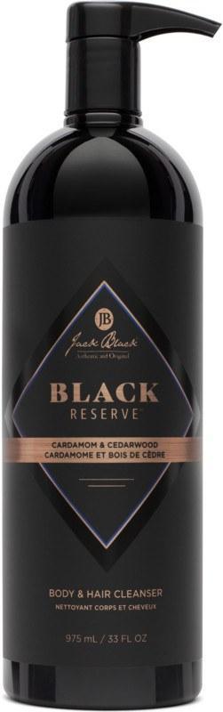 $52.00 Black Reserve Body & Hair Wash 33oz Pump