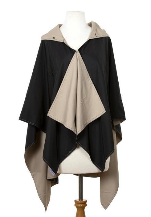 $65.00 Black & Camel Rainrap
