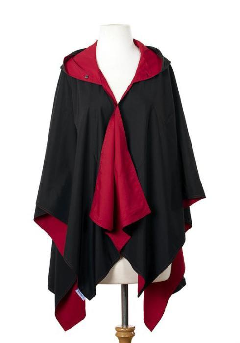 $65.00 Black & Red Rainrap