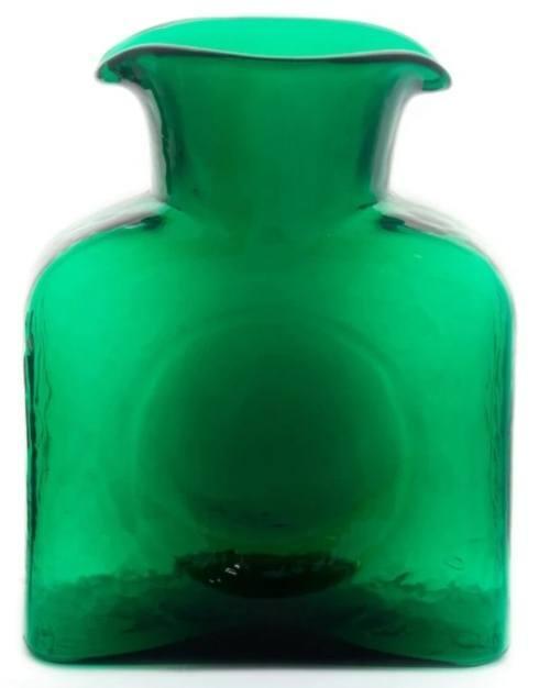 $54.00 Blenko Emerald Water Bottle/Pitcher