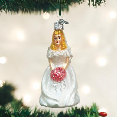 $12.99 Bride (Blonde) Ornament
