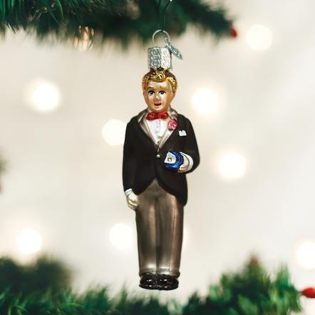 $12.99 Groom (Blonde) Ornament