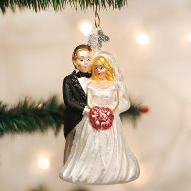 $17.99 Bridal Couple Ornament