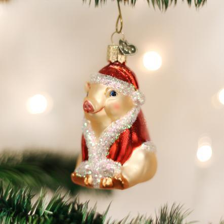 $11.99 Christmas Ham Ornament