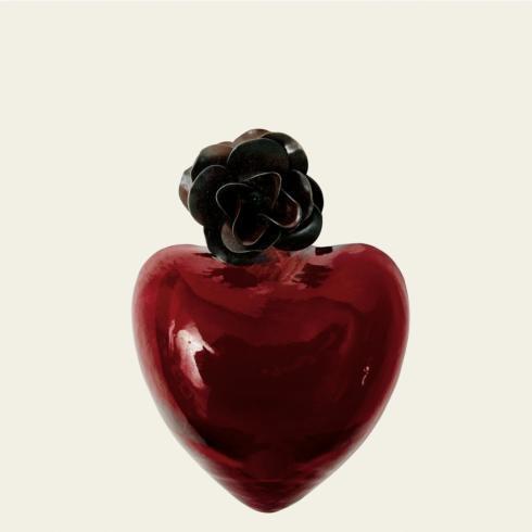 $100.00 Corazon de Melon Heart, Red