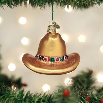 Cowboy Hat Ornament collection with 1 products