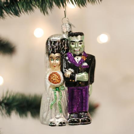 $22.99 Frankenstein & Bride Ornament