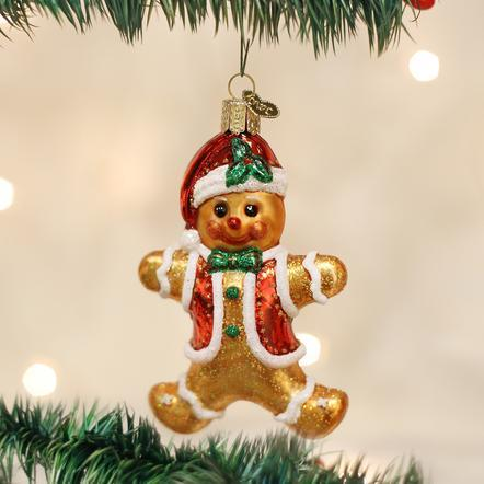 $16.99 Gingerbread Boy Ornament