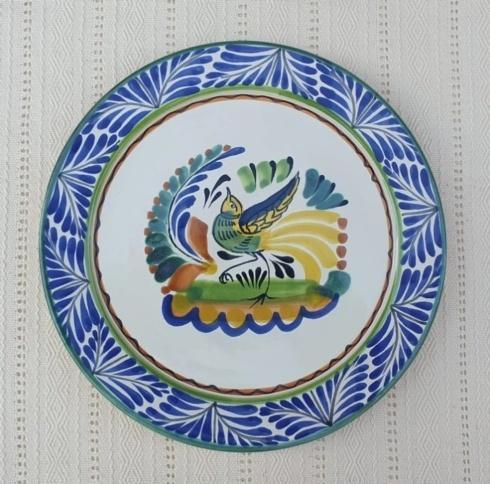 Gorky Pottery   Gorky Bird Salad Plate Assorted $39.00