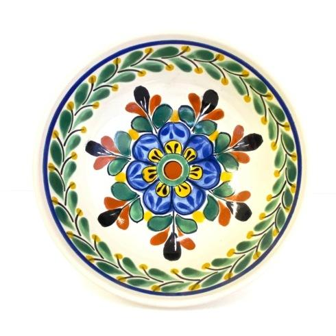 Gorky Pottery   Gorky Floral Salad Plate Assorted $39.00