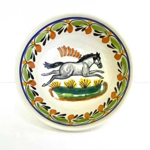 Gorky Pottery   Gorky Horse Cereal Bowl Assorted $43.00