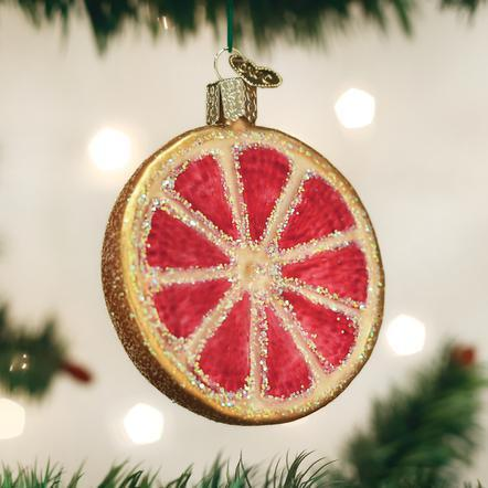 $14.99 Grapefruit Ornament