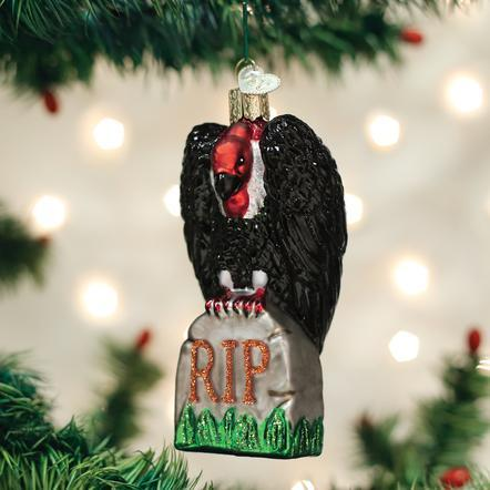 $17.99 Halloween Vulture Ornament