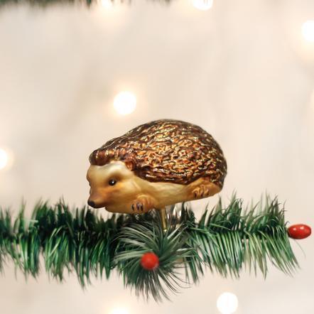 $13.99 Hedgehog Clip-On Ornament