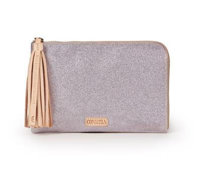 $115.00 Jazz L-Shape Clutch