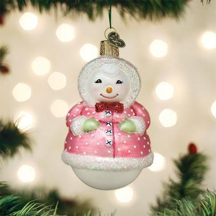 $19.99 Jolly Snowlady Ornament