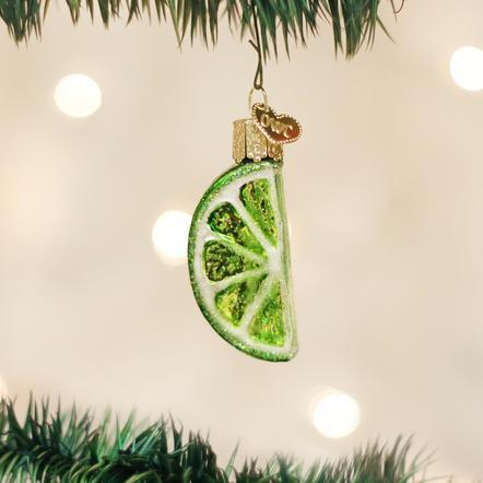 $8.99 Lime Slice Ornament