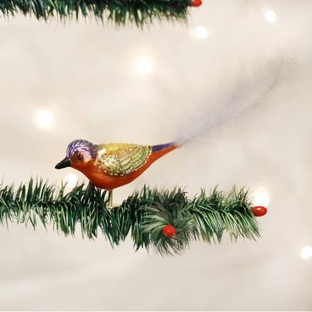$9.99 Painted Bunting Ornament