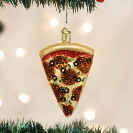 $9.99 Pizza Slice Ornament