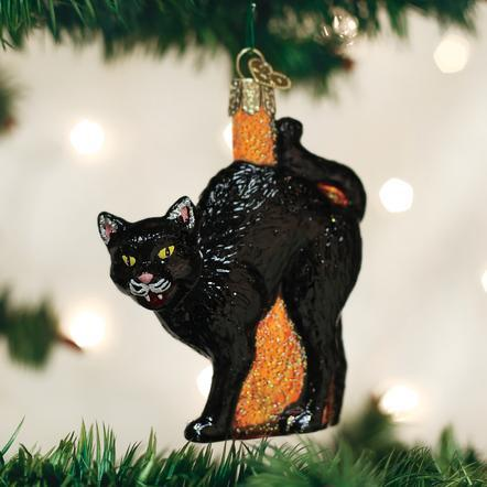 $11.99 Scaredy Cat Ornament