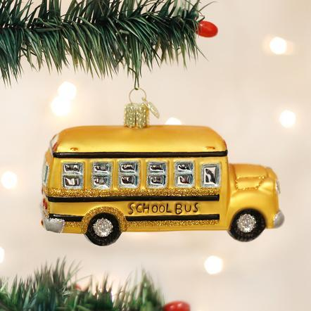 $14.99 School Bus Ornament