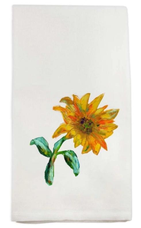 $16.00 Sunflower Dish Towel