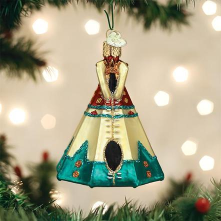 $24.99 Teepee Ornament