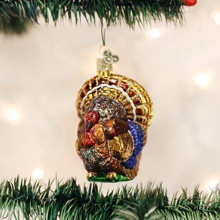 $13.99 Tom Turkey Ornament