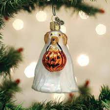 $19.99 Trick-or-Treat Pooch Ornament