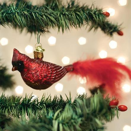 $13.99 Vintage Cardinal Ornament