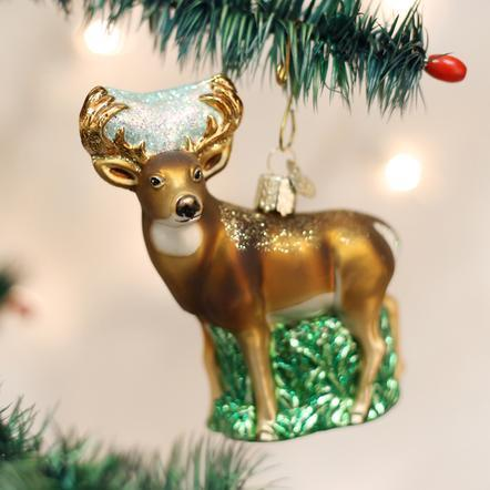 $22.99 White Tail Deer Ornament