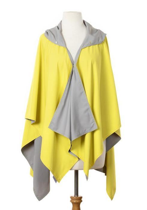 $65.00 Yellow & Gray Rainrap